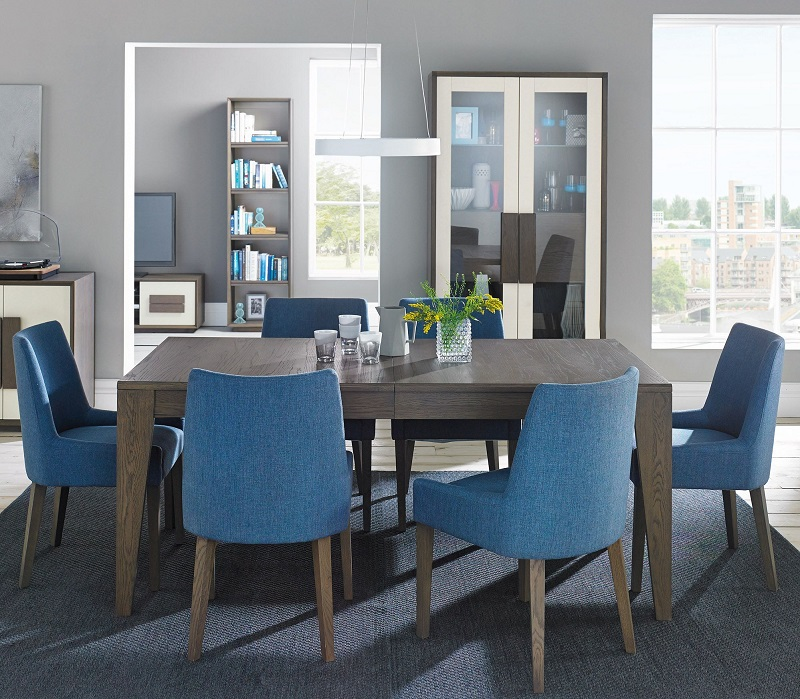 Cookes Collection Urban dining set in blue