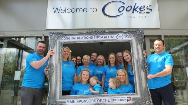 Cookes hope for a photo finish at Great Midlands Fun Run