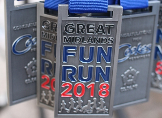 Cookes Furniture limbers up for Great Midlands Fun Run