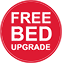 Free Bed Upgrade (red)