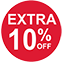 Extra 10% Off (red)