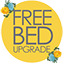 FREE BED UPGRADE YELLOW