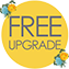 FREE SOFA UPGRADE YELLOW FLORAL