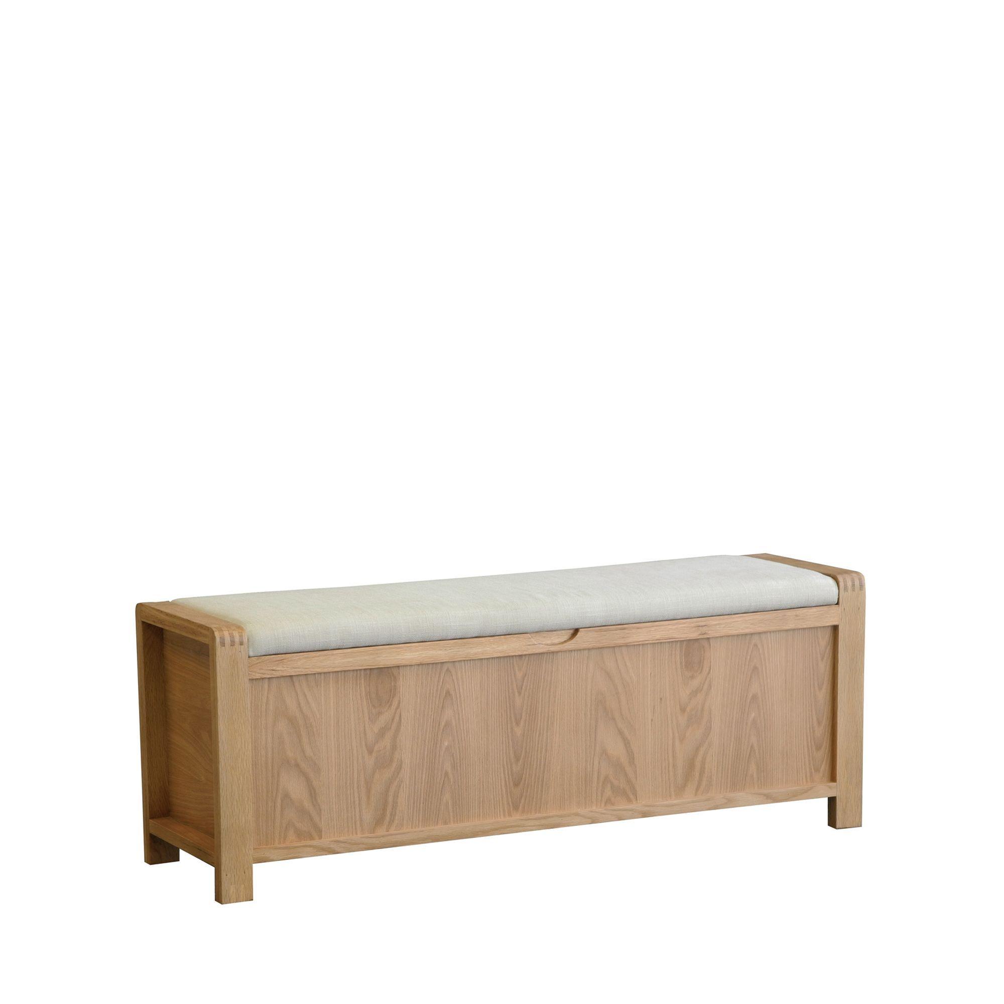 Ercol Bosco Storage Bench Ercol Cookes Furniture