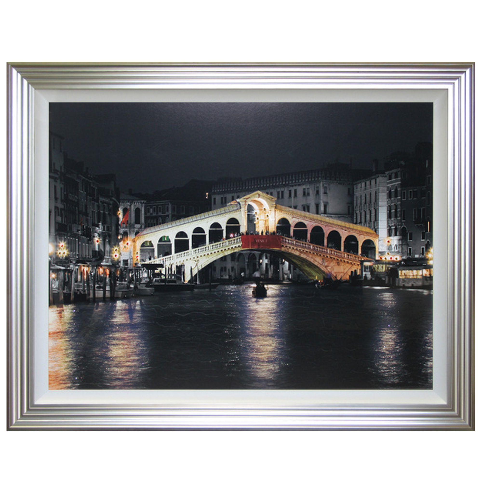 Rialto Bridge Liquid Art Pictures Cookes Furniture