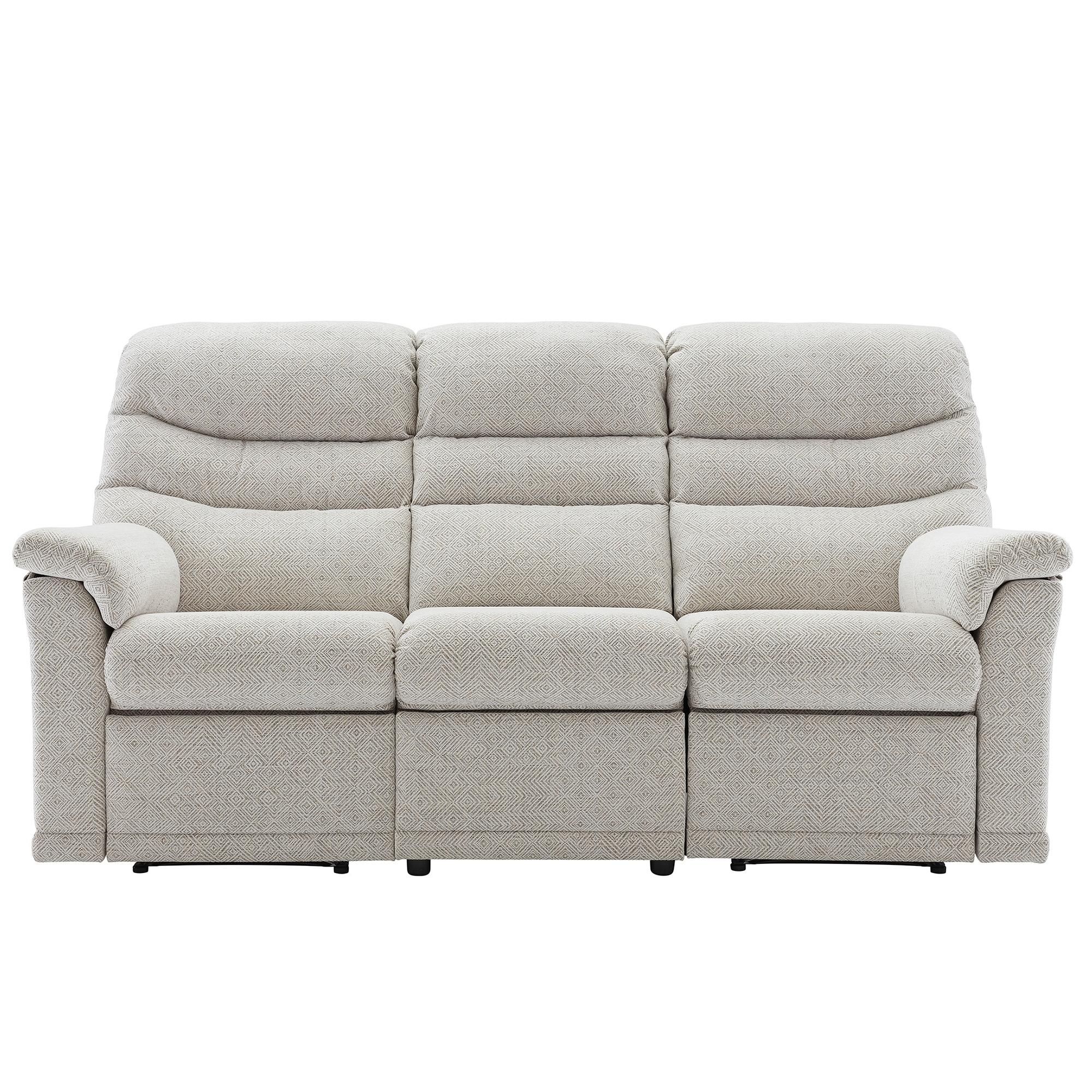 g plan malvern 3 seater double power recliner sofa