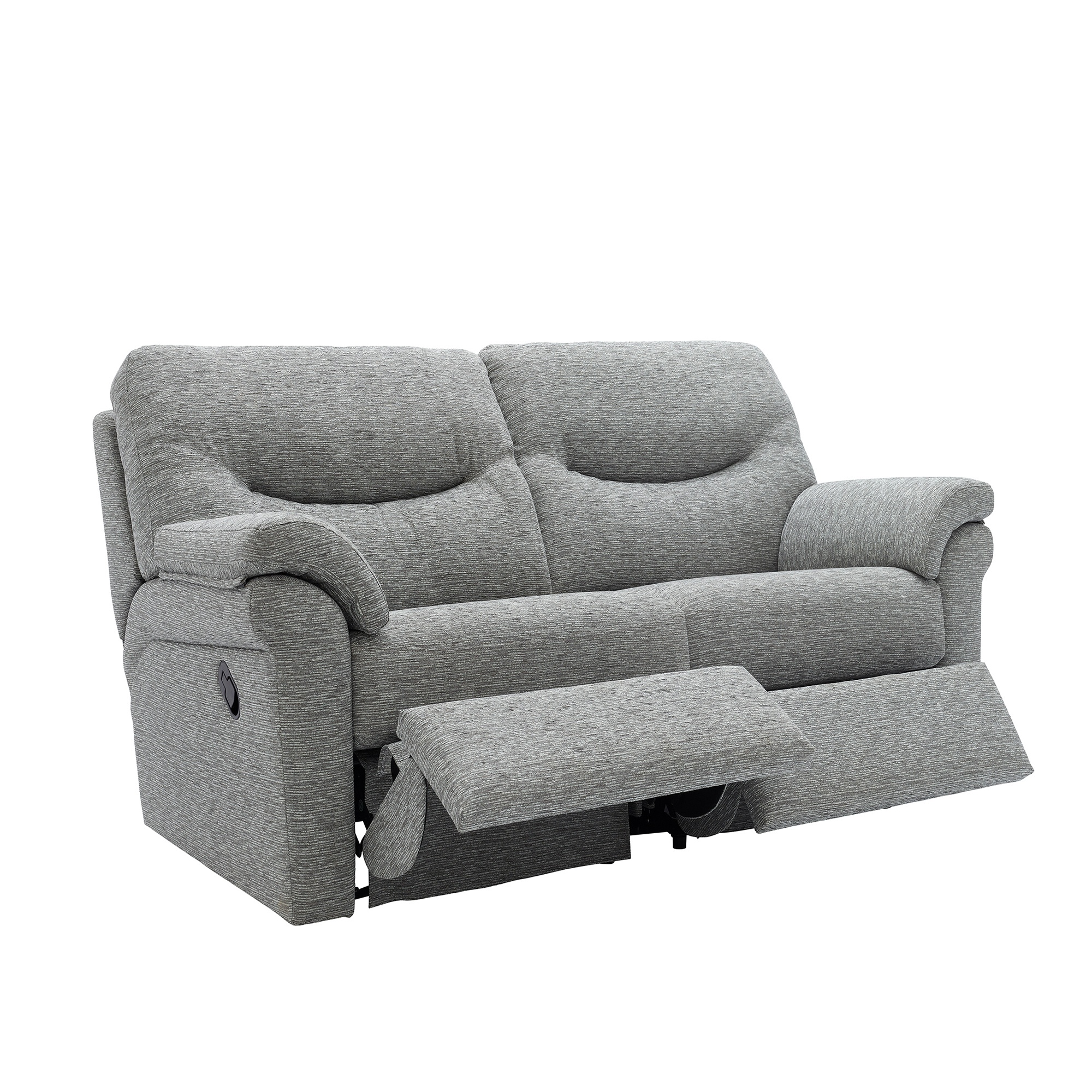 hugger recliner saskia sofa james products microfiber seat prolounger oliver grey storage reclining wall