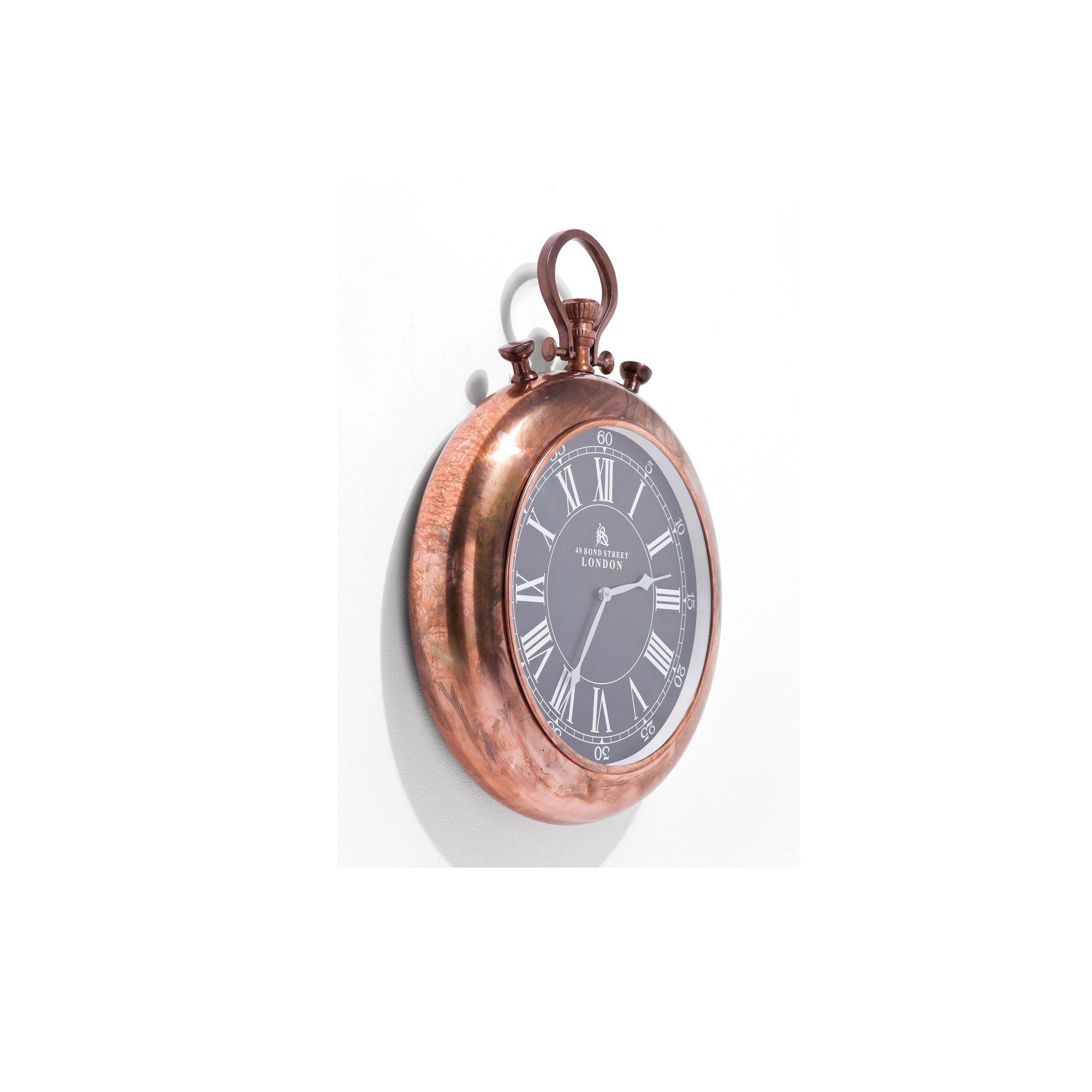 wall clock pocket copper wall clocks cookes furniture. Black Bedroom Furniture Sets. Home Design Ideas