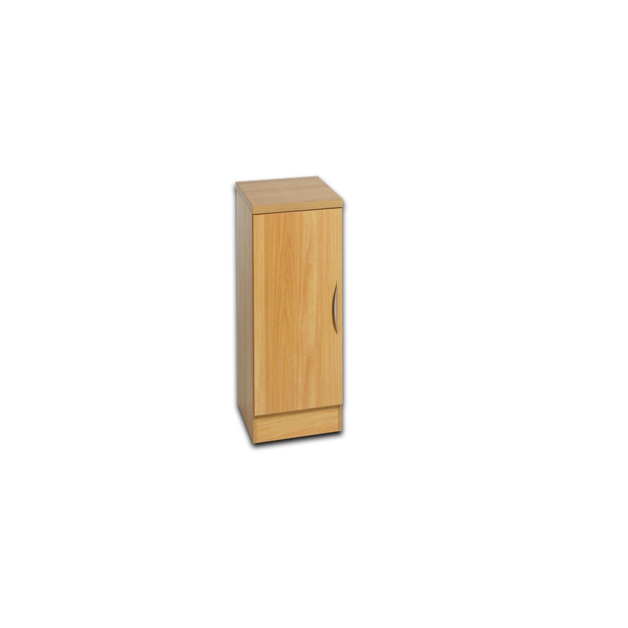 Office Low Height Single Door Narrow Cupboard - Storage ...