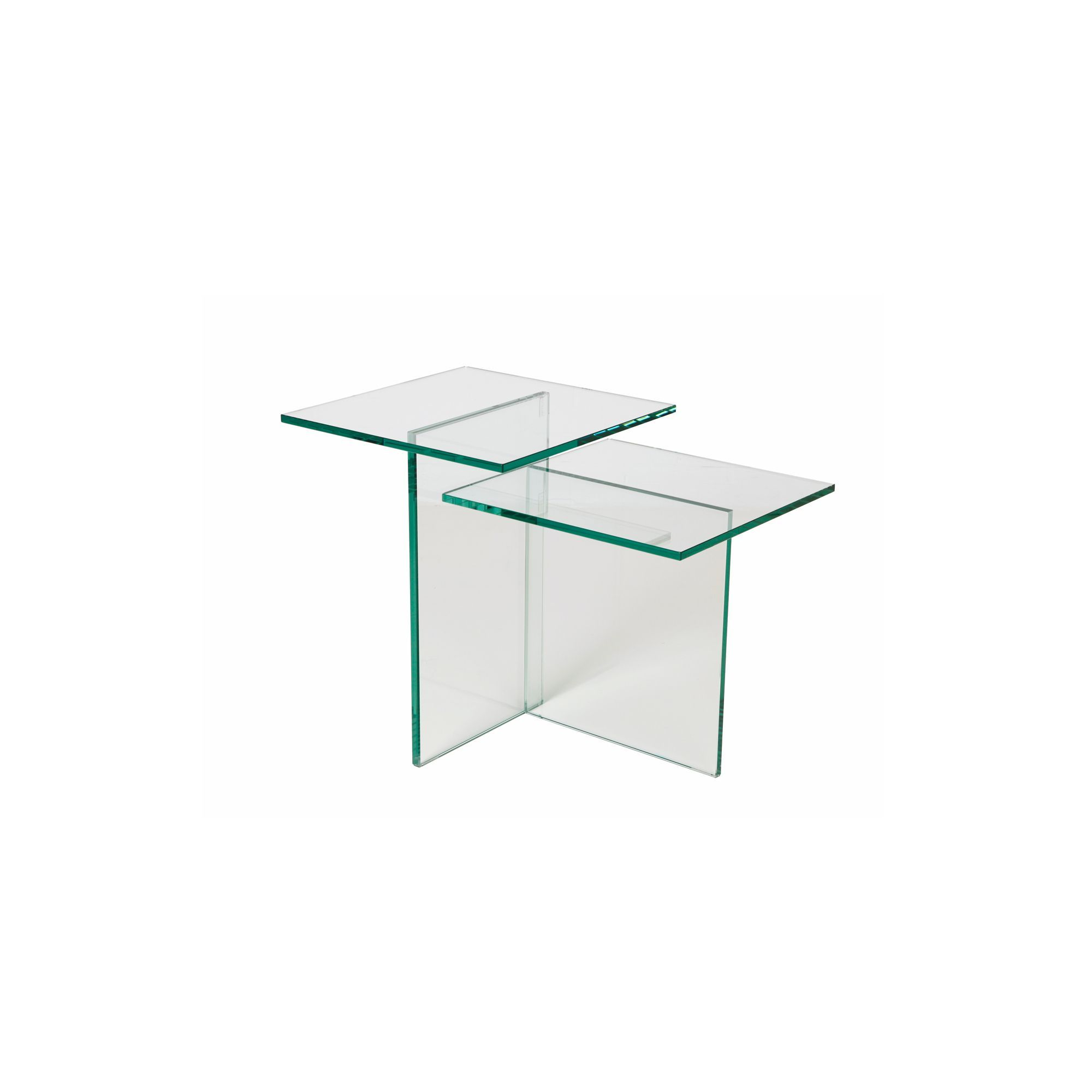 Tables And Consoles Lamp Table In Glass Side Tables