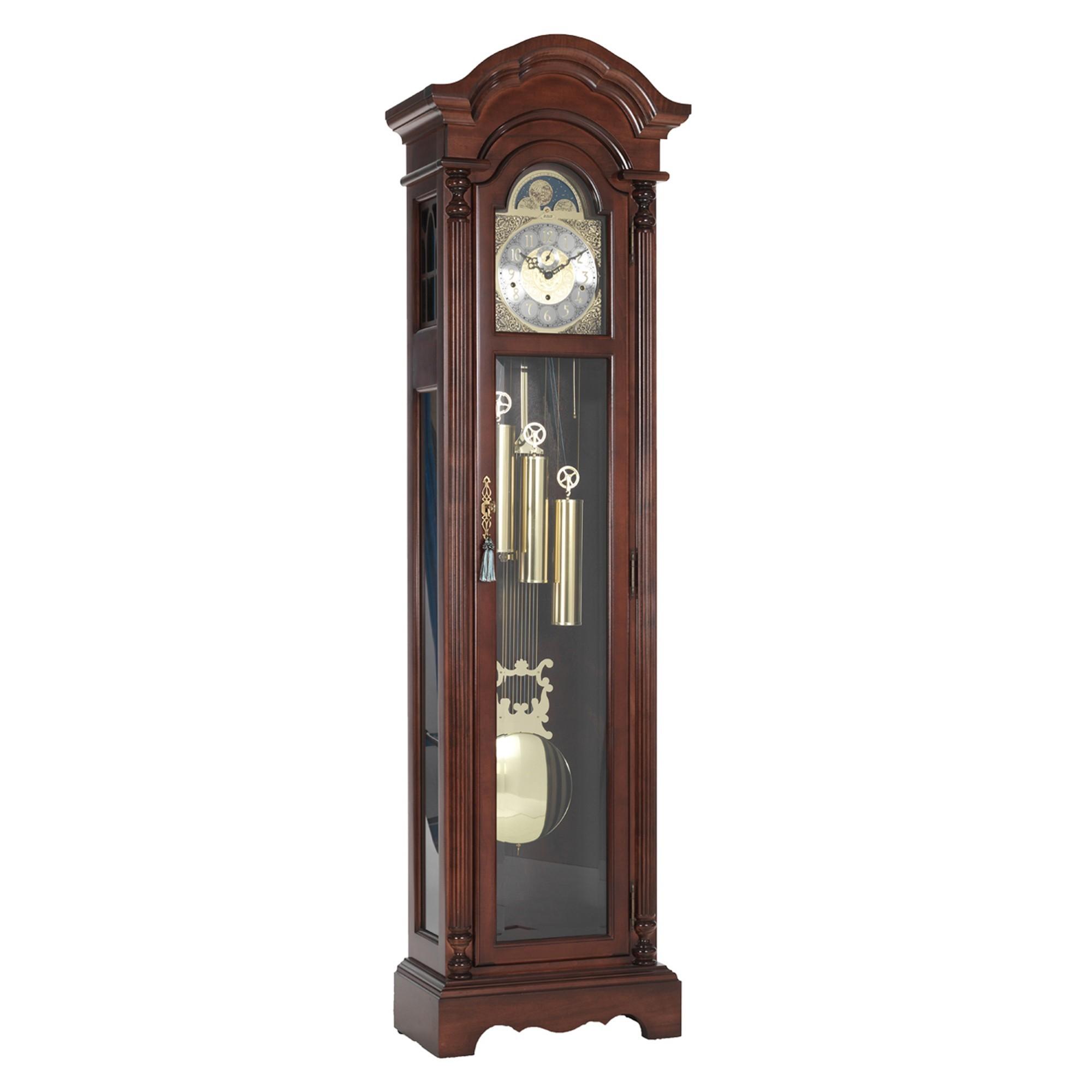 Berkeley Mahogany Triple Chime Grandfather Clock