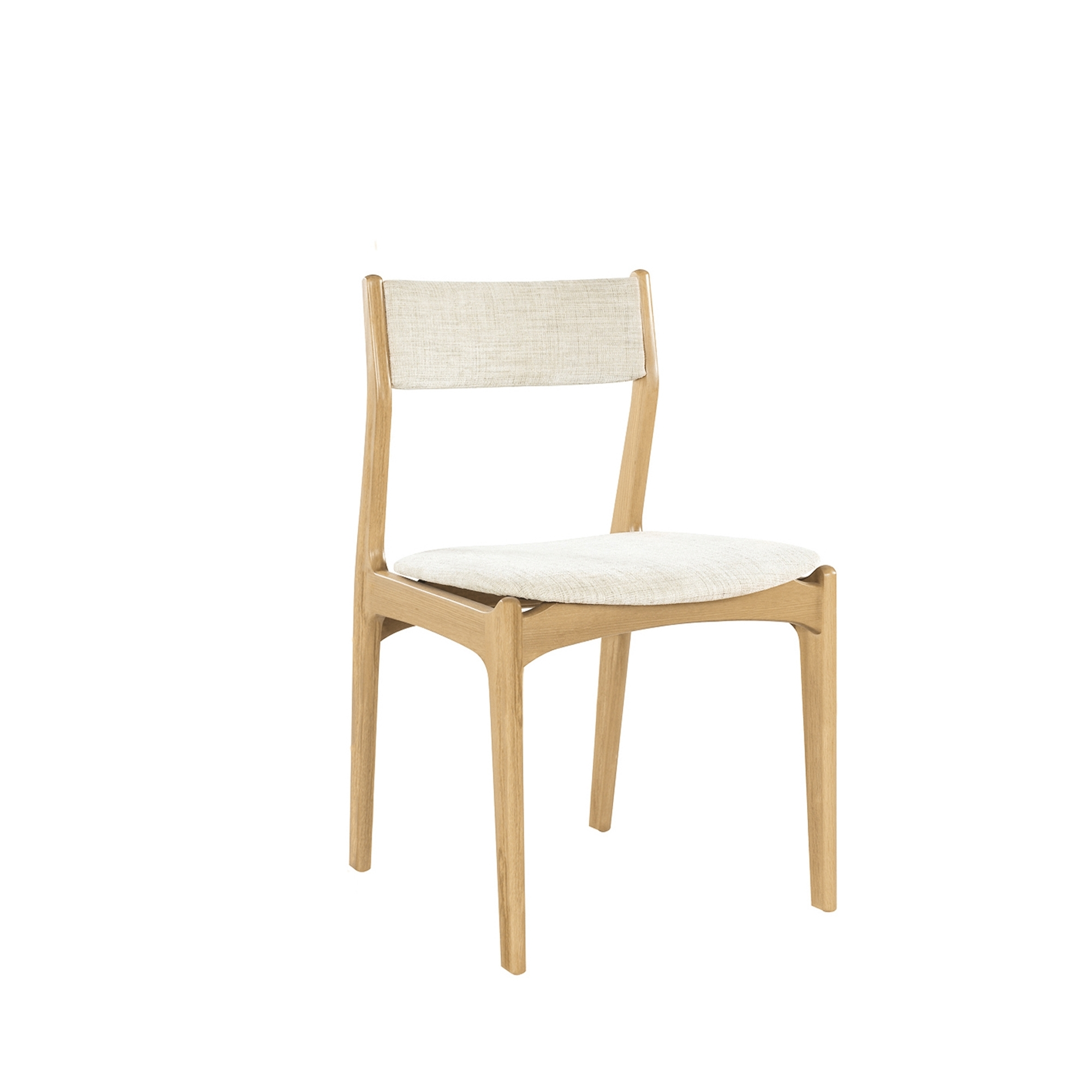 Nathan shades oak low back dining chair
