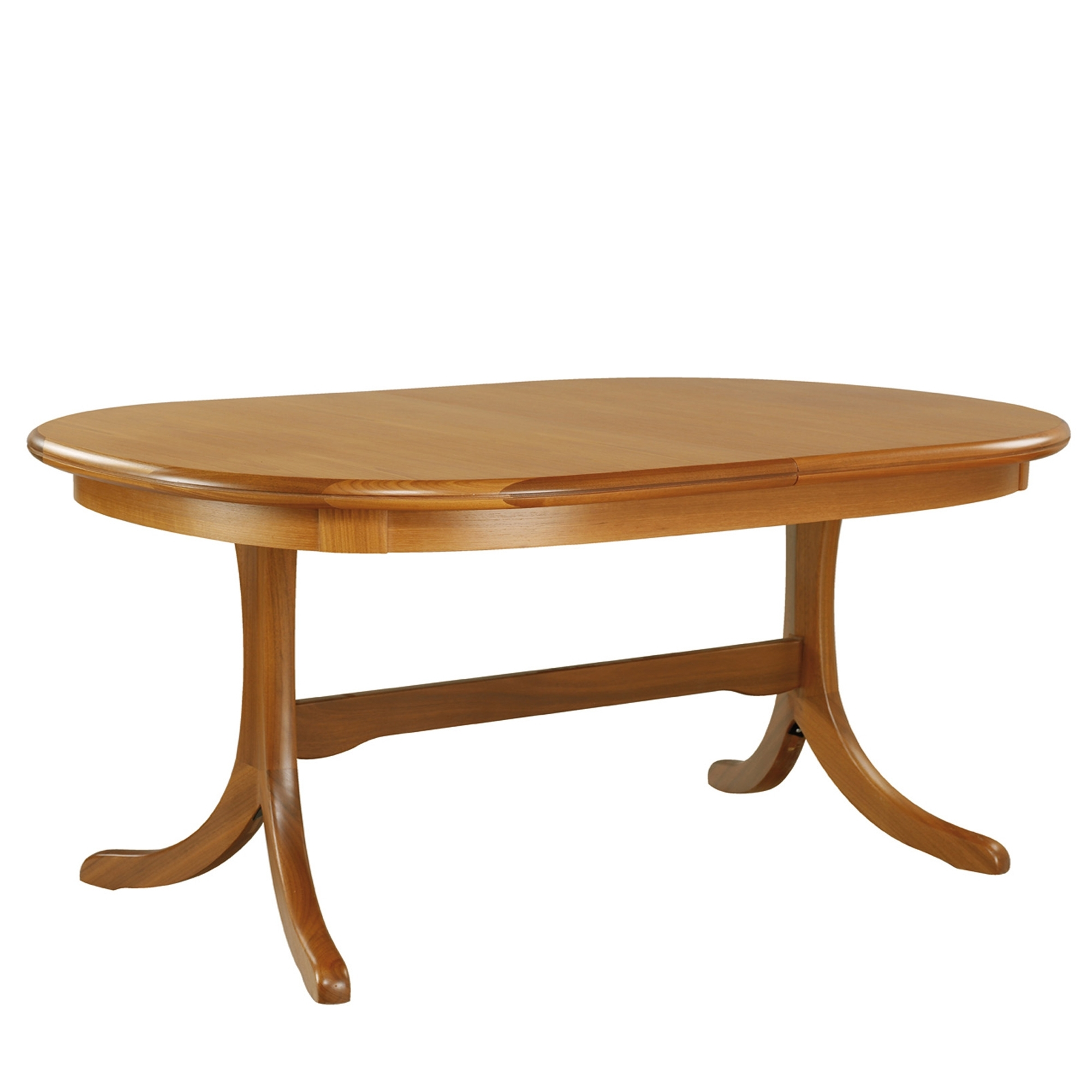 Sutcliffe trafalgar teak goodwood oval dining table Oval dining table
