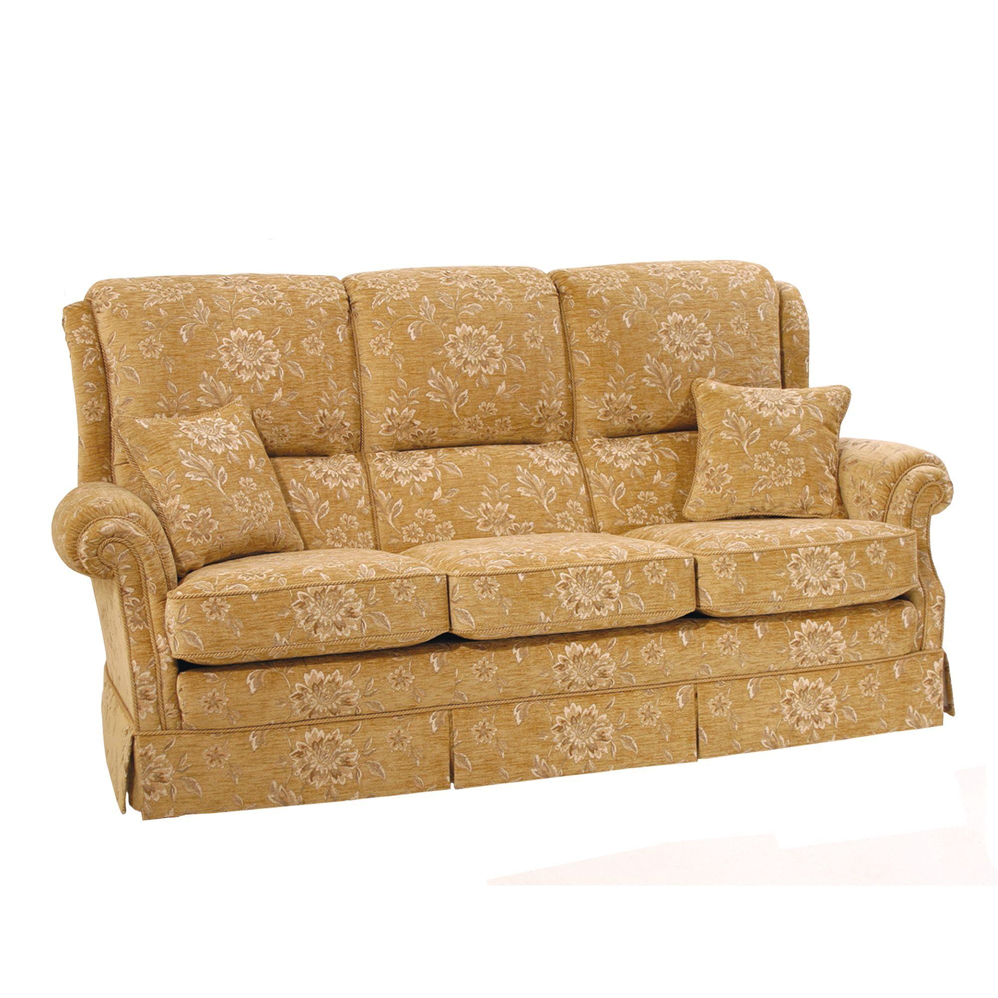 Vale Bridgecraft Sorrento 3 Seater Sofa