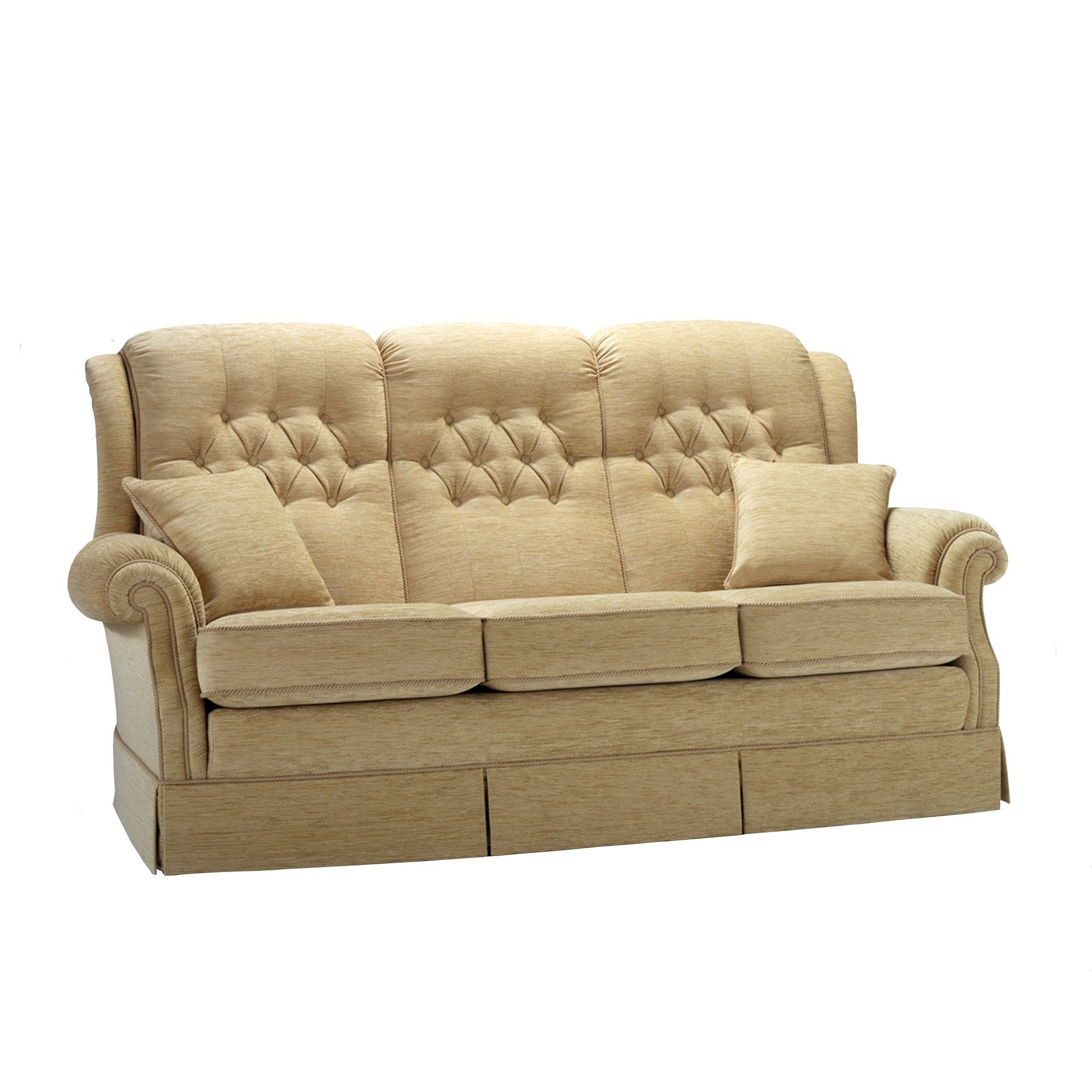 Vale Amalfi 3 Seater Sofa – Cookes Furniture Cookes Furniture