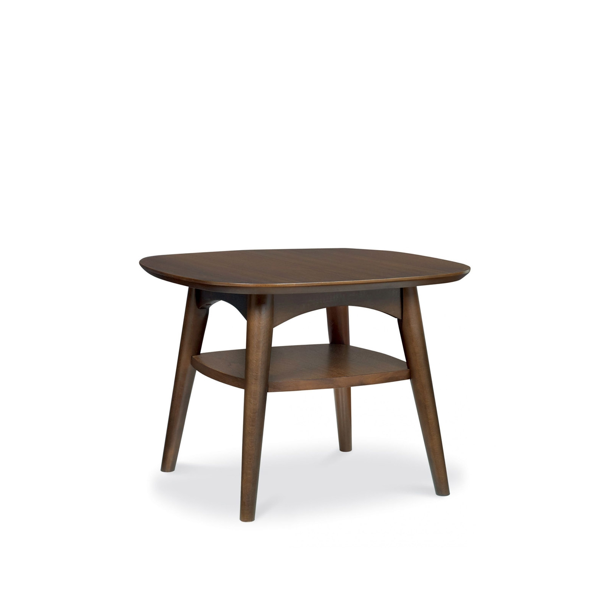 Cookes collection norway walnut lamp table with shelf dining cookes collection norway walnut lamp table with shelf aloadofball Images