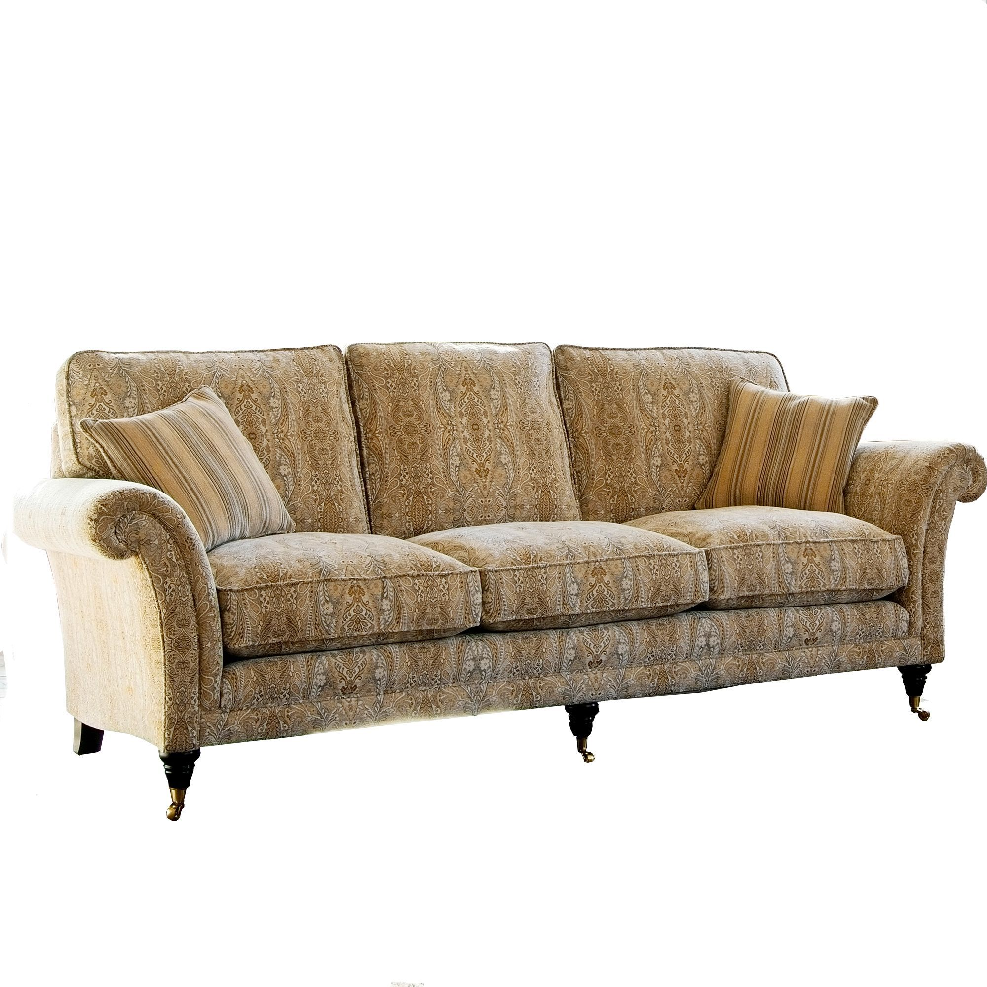 Parker Knoll Burghley Grand Sofa Leather Sofas Cookes Furniture