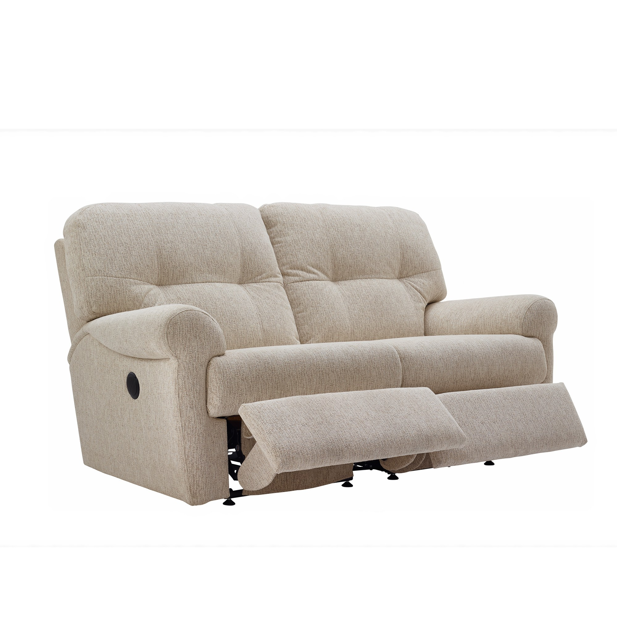 G plan winslet 2 seater double power recliner sofa for Double leather sofa