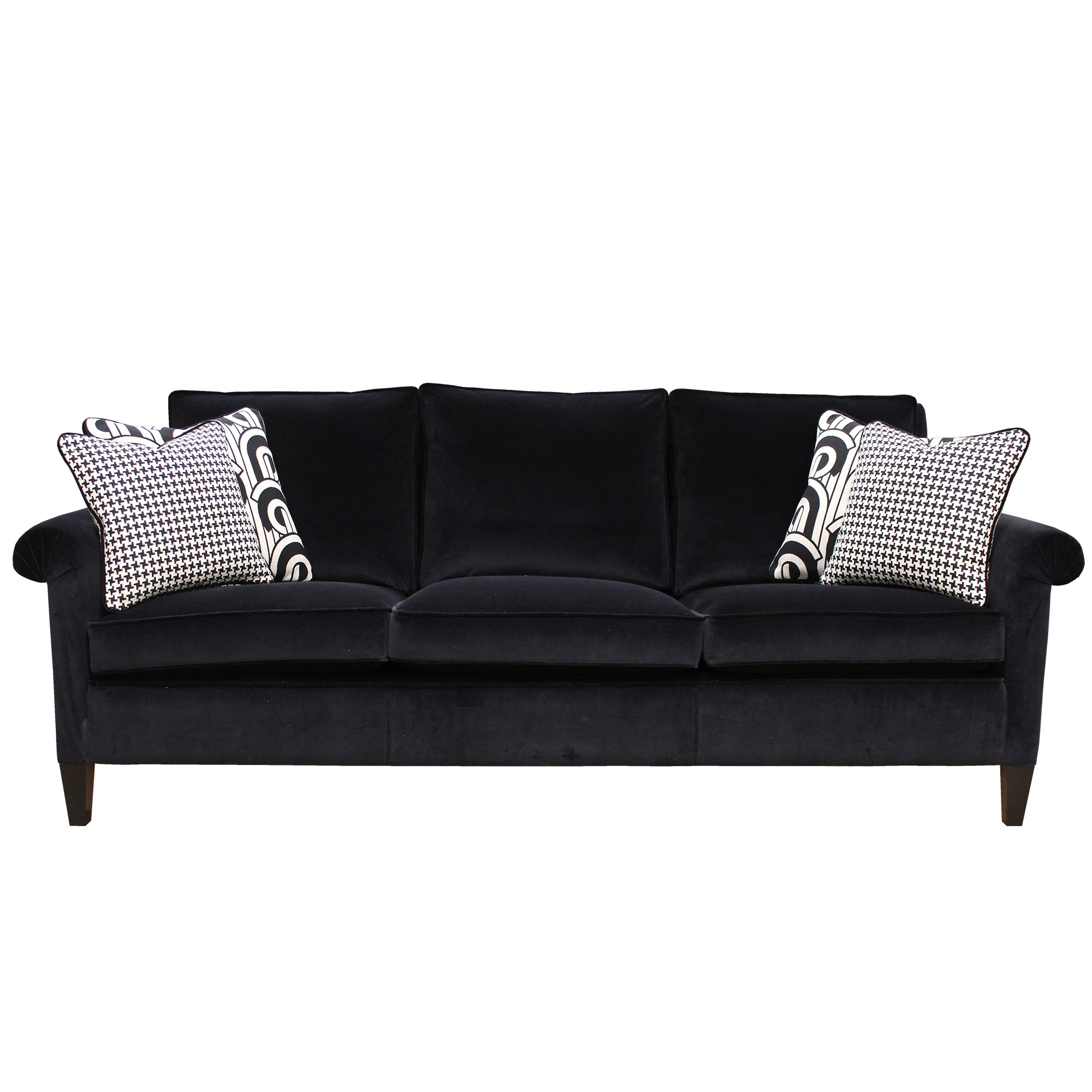 Duresta gabrielle studded large sofa duresta cookes for Studded couch