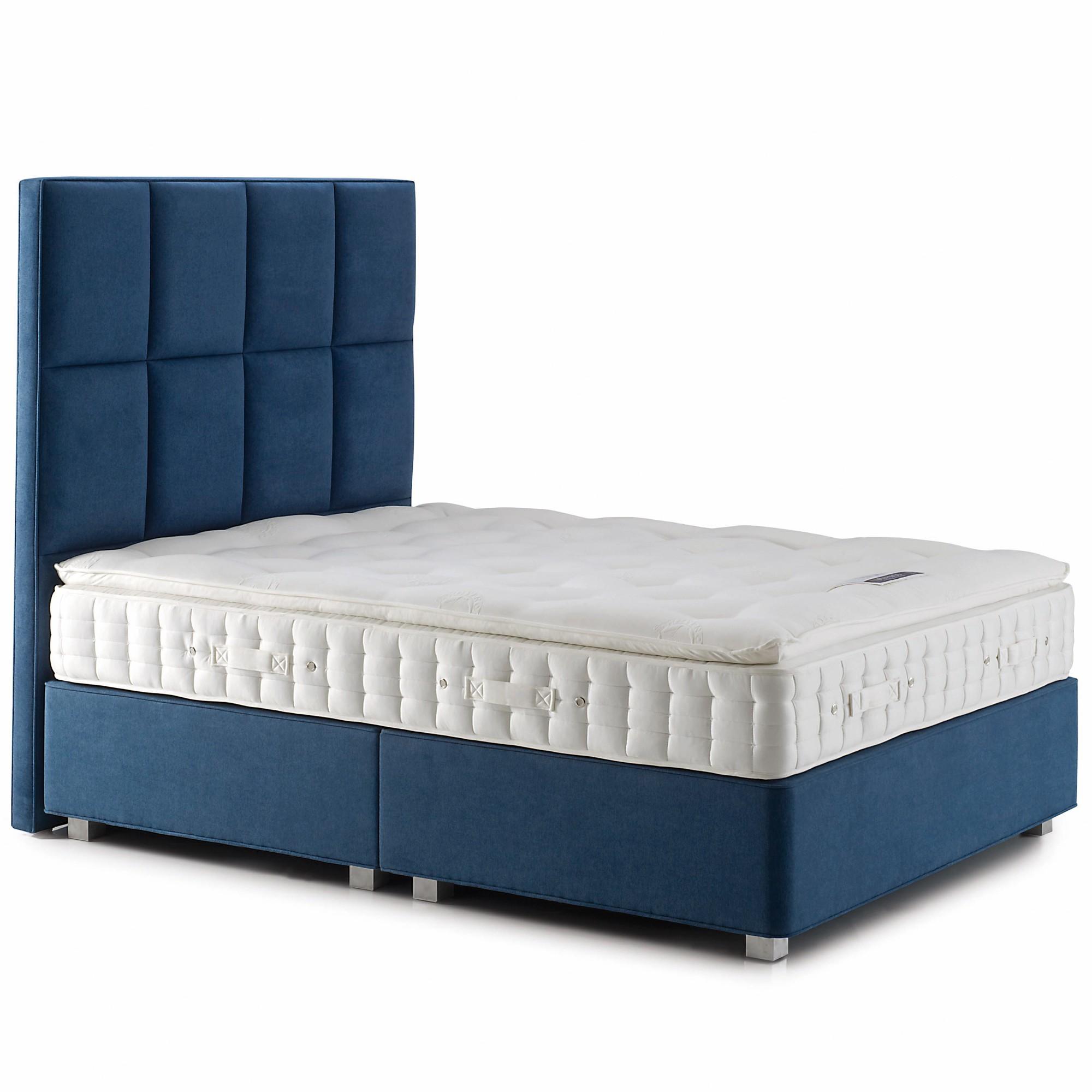 Hypnos pillow comfort alpaca deep pocket sprung edge divan for Pocket sprung divan