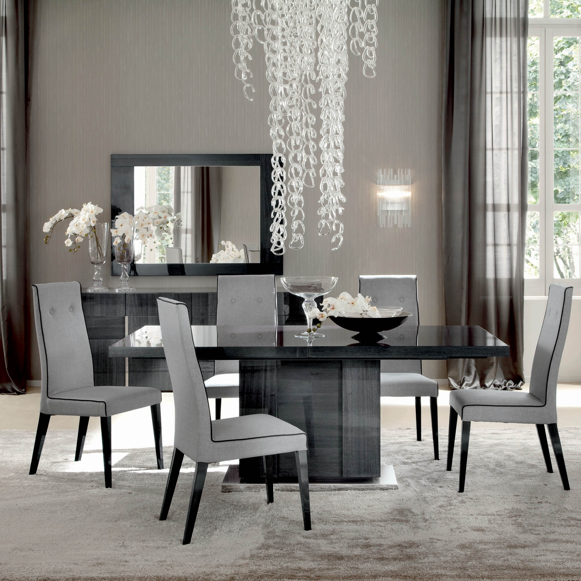 Alf Monte Carlo Dining Table And 6 Chairs Dining Sets
