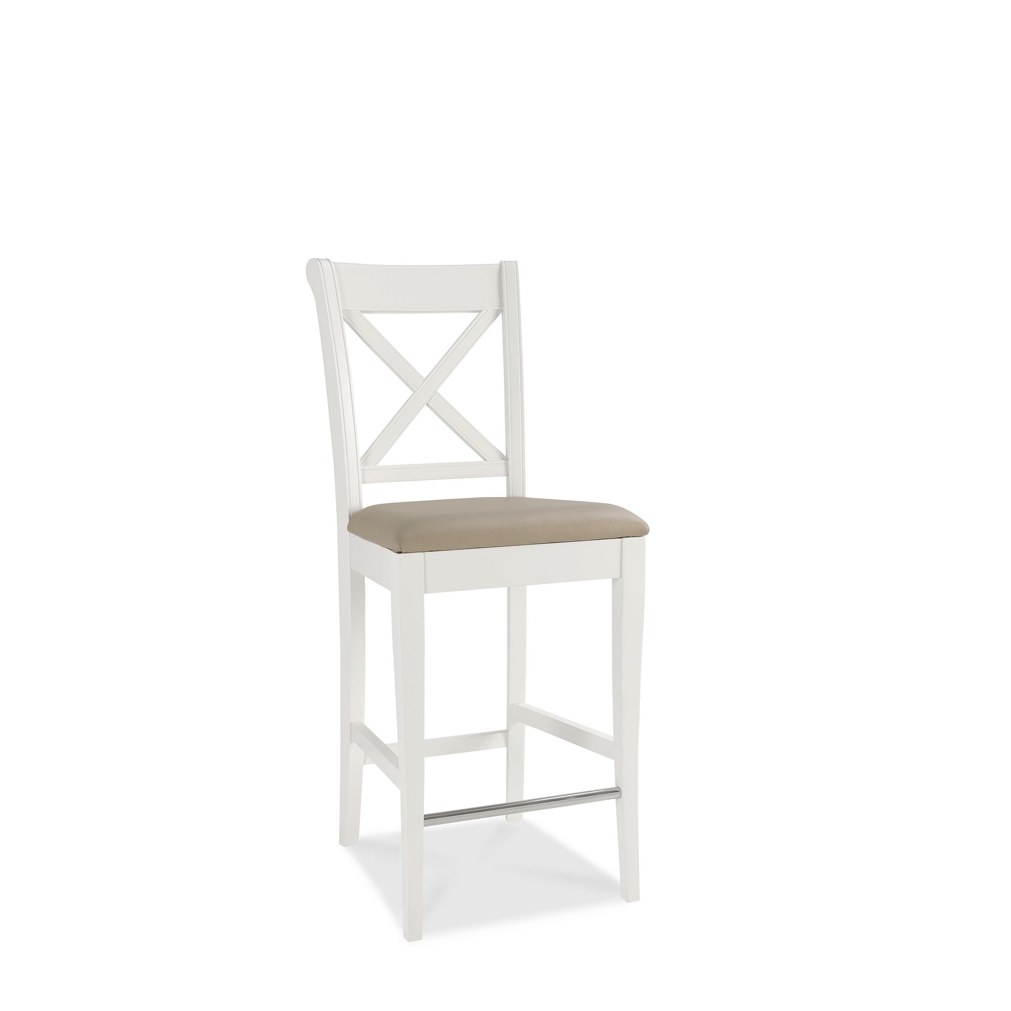 Cookes Collection Camden Two Tone X Back Bar Stool