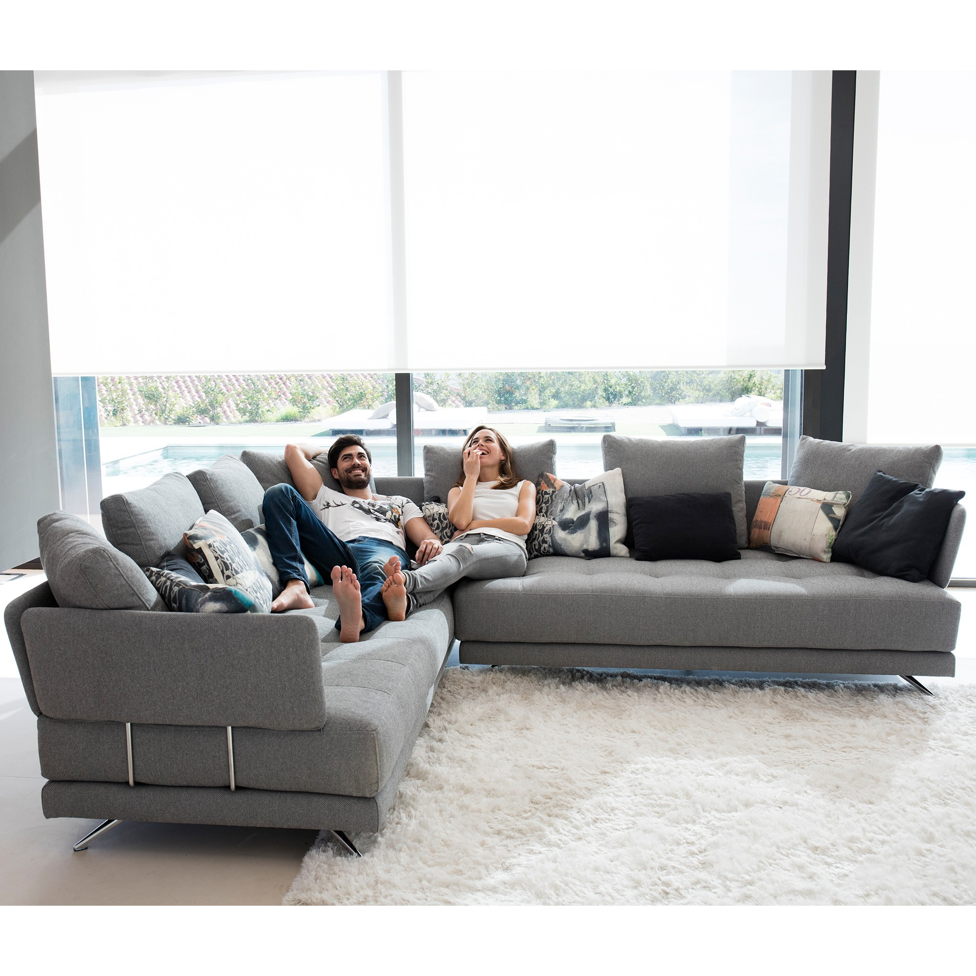 Fama Pacific Corner Group - Fabric Sofas - Cookes Furniture