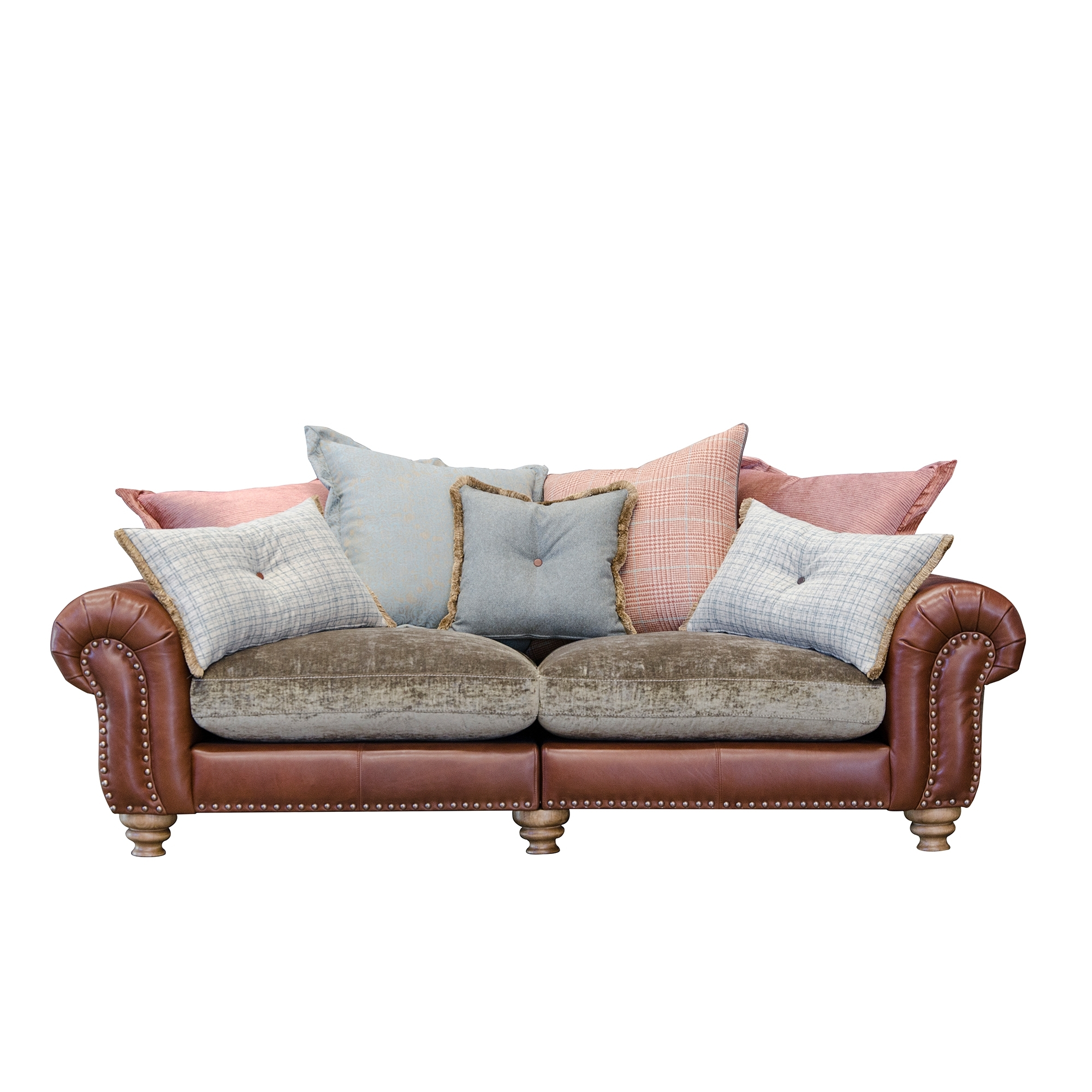 Beau Alexander And James Bloomsbury Large Split Sofa