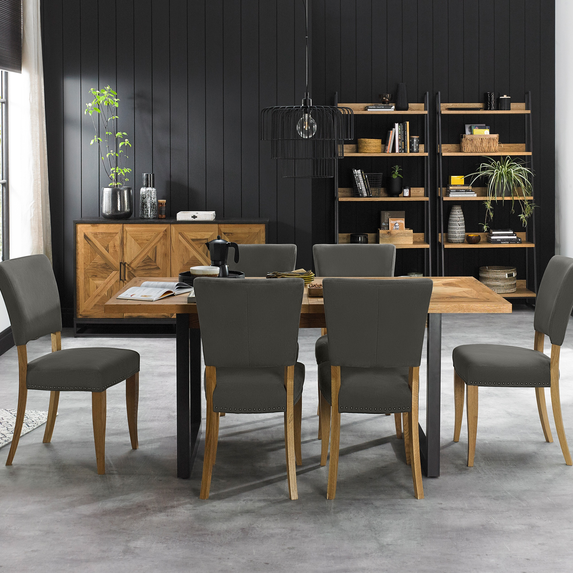 Cookes Collection Iris Extending Dining, Dining Room Table And Chairs