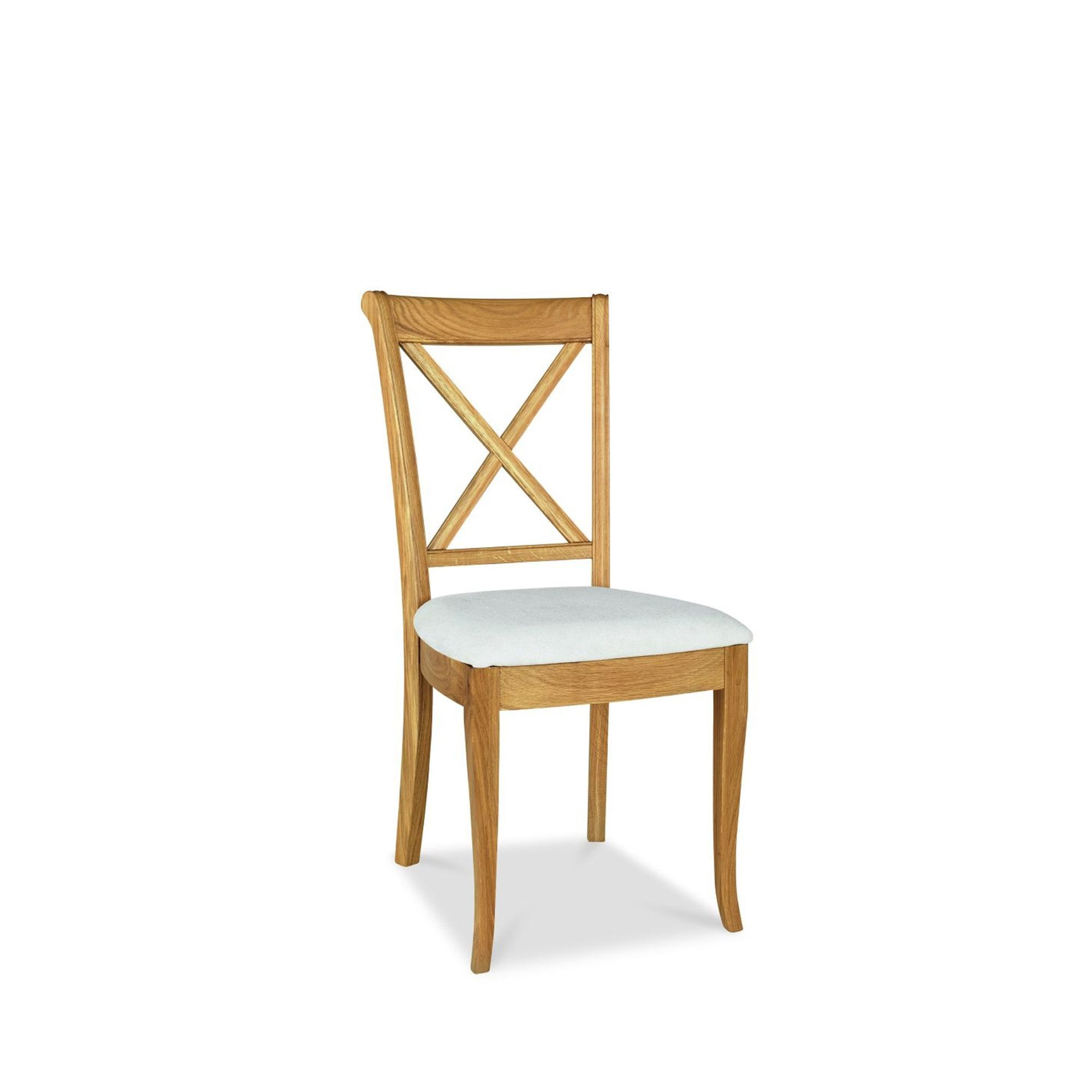 Cookes Collection Chateau Oak X Back Dining Chair Dining