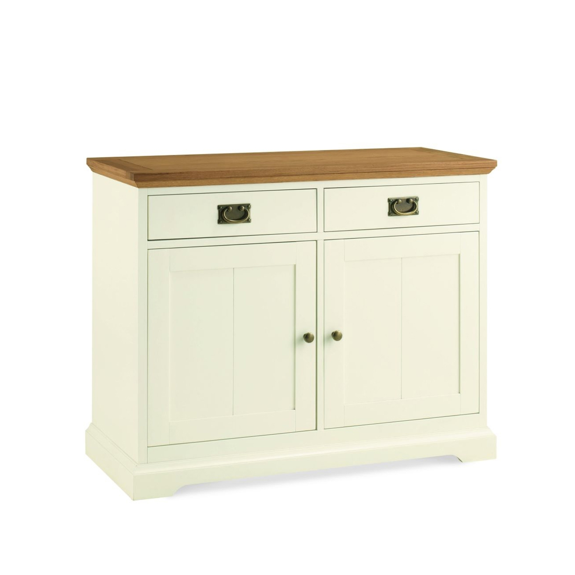 Cookes collection romana two tone narrow sideboard for Sideboard romina