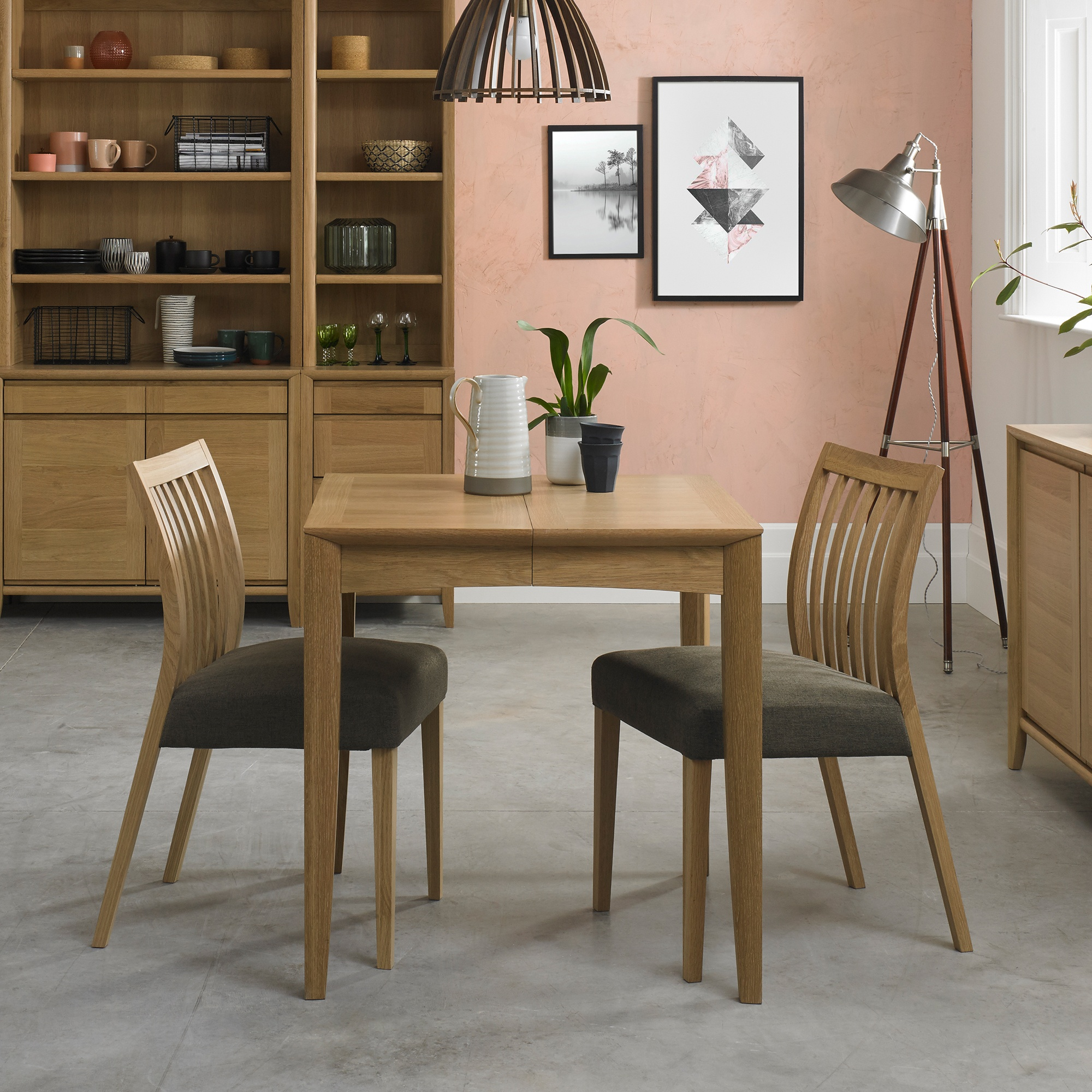 Cookes Collection Romy Small Dining Table And 2 Chairs Dining Furniture