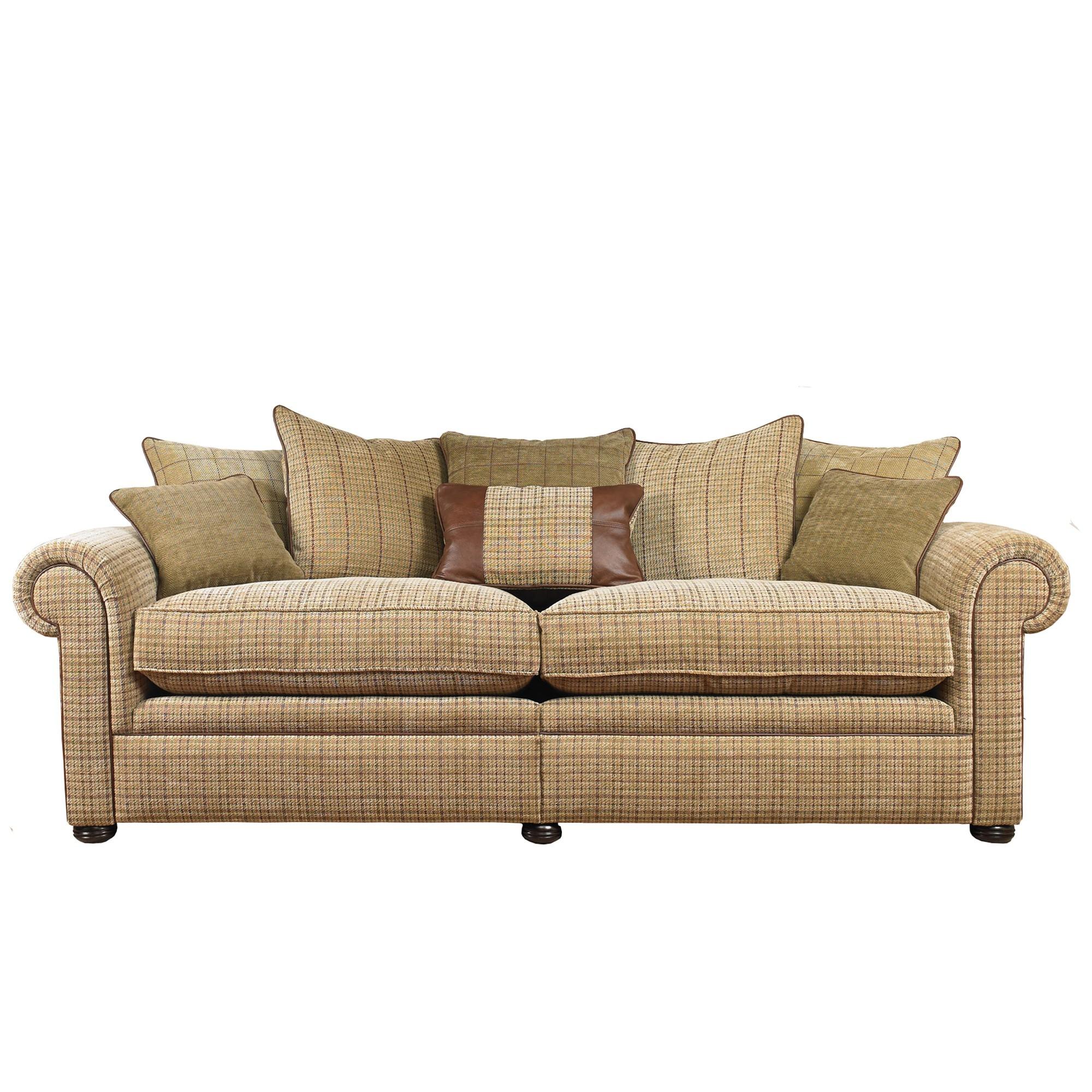 Wade Upholstery Barnaby Grand Scatter Back Split Sofa Wade