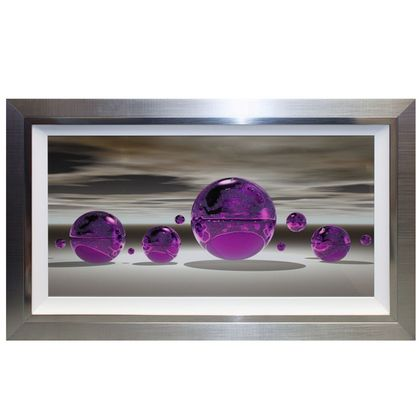 Purple Sphere Liquid