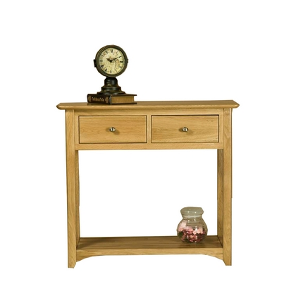 Cookes Collection Nobel 2 Drawer Console Table