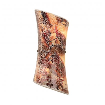 Dark Glass Mosaic Wall Bracket