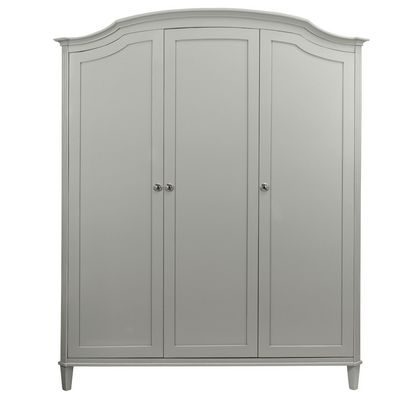Abella Arched Top 3 Door Wardrobe