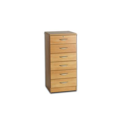 Office 6 Drawer Unit