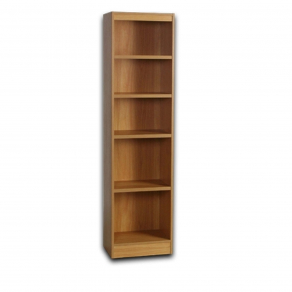 Office Tall Narrow Bookcase