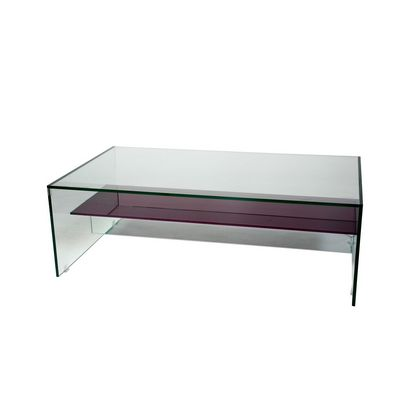 Coffee Table With Lower Shelf In Colour