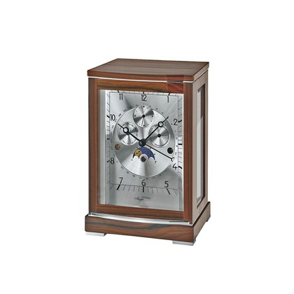 Lloyd Walnut & Aluminium Mantel Clock