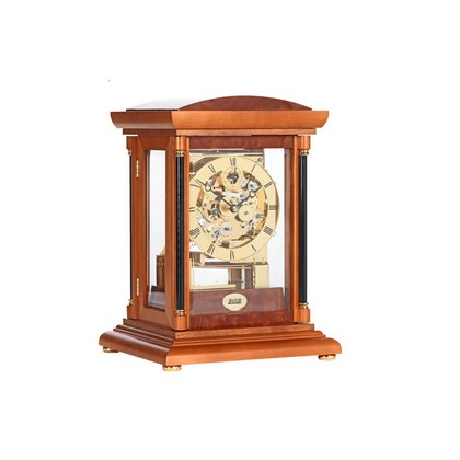 Bradley Yew Triple Chime Mantel Clock