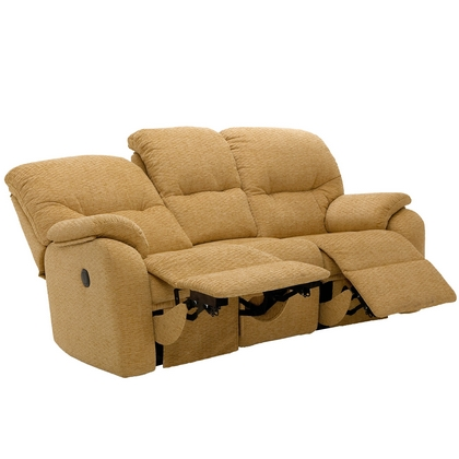 G Plan Mistral 3 Seater Double Power Recliner Sofa