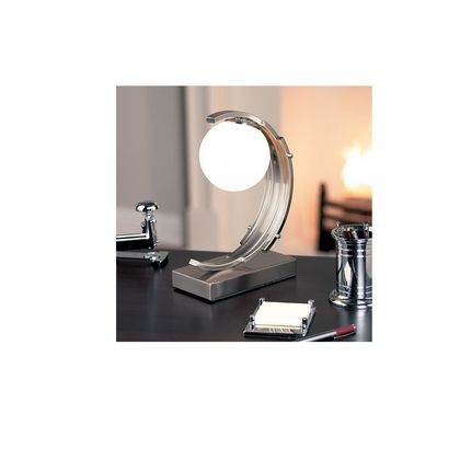 Chrome Art Deco Desk Lamp