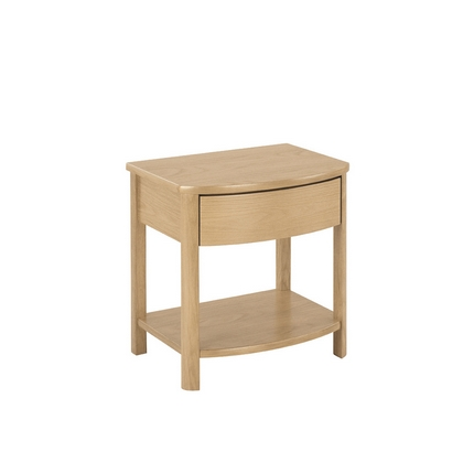 Nathan Shades Oak Shaped Lamp Table