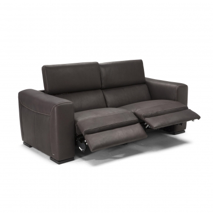 Natuzzi Editions Forza Electric Recliner Loveseat