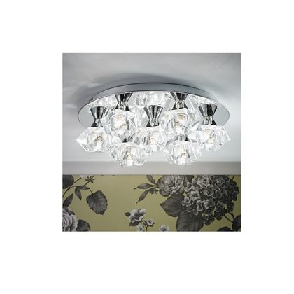 7 Light Chrome Fitting