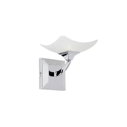 1 Light Chrome Wall Bracket