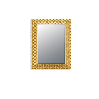 Midland Mirror Gold Mosaic Mirror