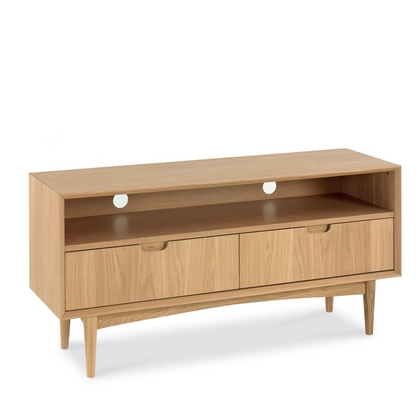Cookes Collection Norway Oak Entertainment Unit